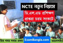 NCTE -এর নয়া নিয়মে চরম সংকটে ডি.এল.এড প্রশিক্ষণ প্রাপ্তরা